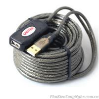 Cáp USB 20m Có IC khuếch đại tín hiệu chính hãng Unitek Y-262