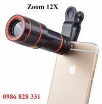 Len zoom 12X cho Điện thoại