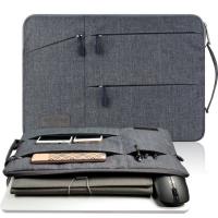 Túi chống sốc laptop 15 inch nhiều ngăn có quai cầm