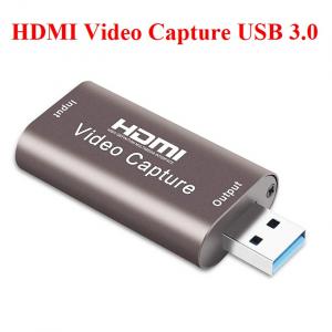 HDMI Video Capture USB 3.0 ghi chương trình vào Máy tính
