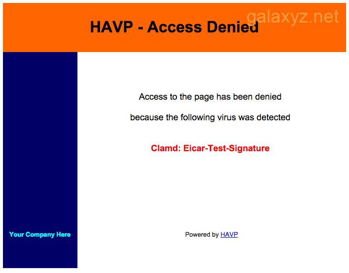 HAVP - Quyền truy cập bị Từ chối