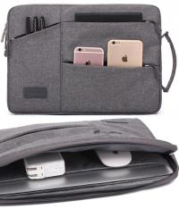 Túi chống sốc Laptop 11 inch nhiều ngăn có quai cầm KAYOND